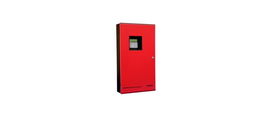 Conventional 12 Zone fire alarm panel image
