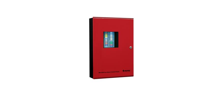 Conventional 4 Zone fire alarm panel image
