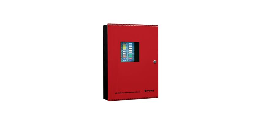 Conventional 8 Zone fire alarm panel image