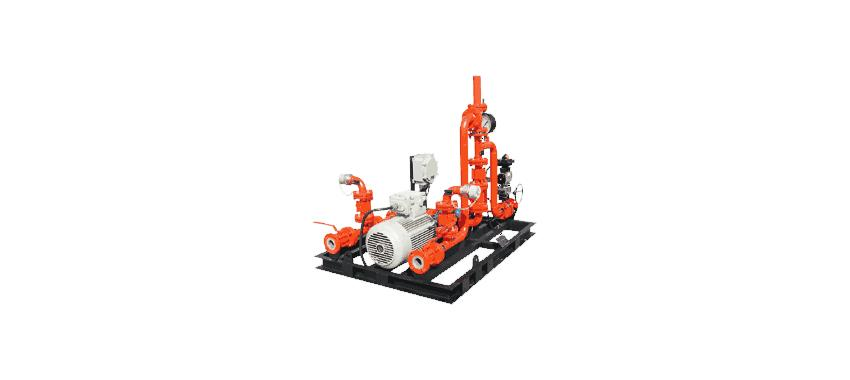 SKID MOUNTED BALANCE PRESSURE FOAM PROPORTIONING SYSTEM image