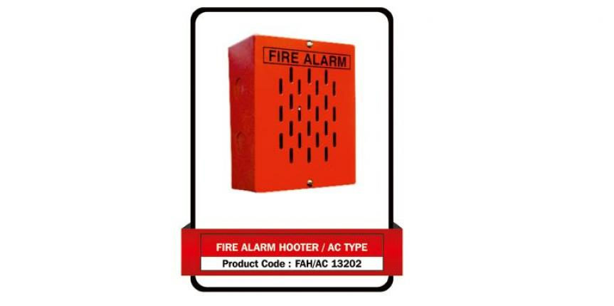 Fire Alarm Hooter/ AC Type