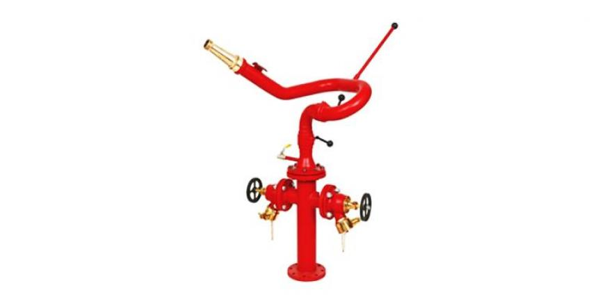 2-Way Stand Post With Monitor Hydrant