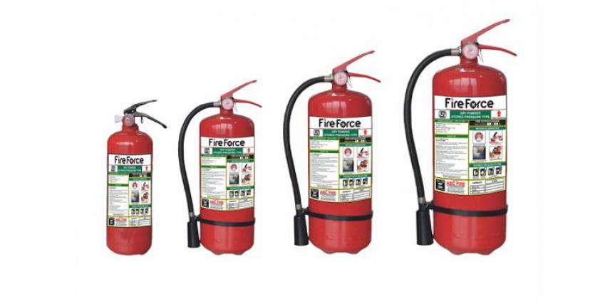 ABC-E Multipurpose Fire Extinguisher – Power Map