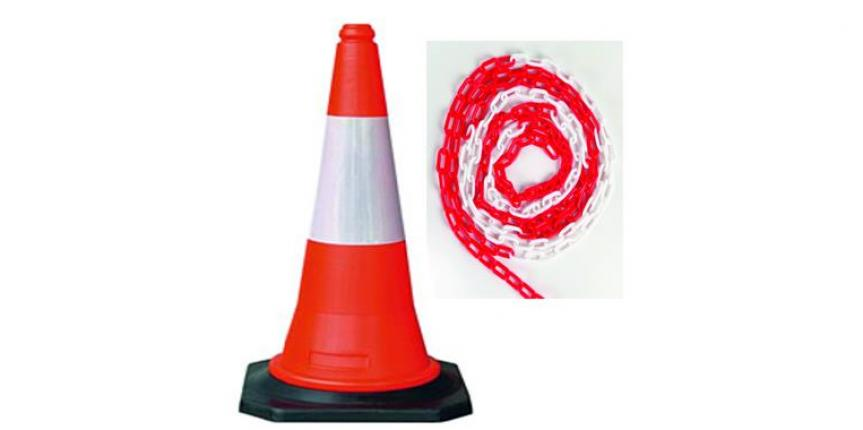 Road Safety Cone & Chain