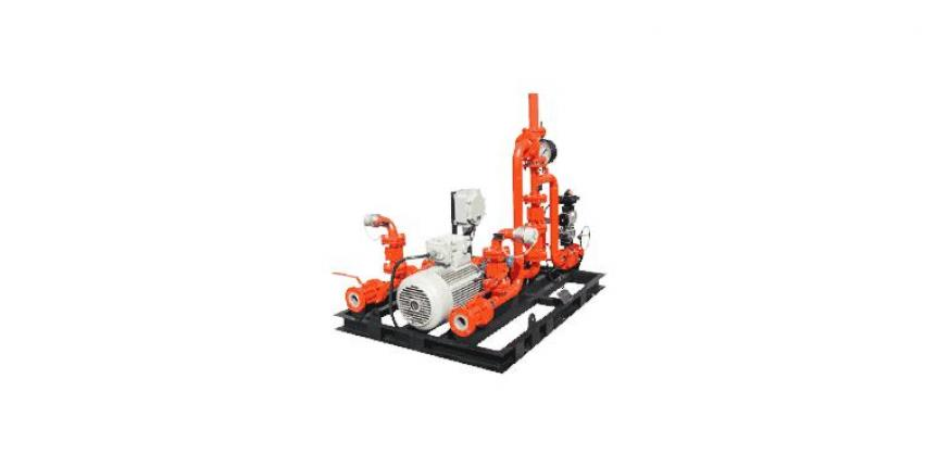 Skid Mounted Balance Pressure Foam Proportioning System