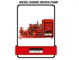 DIESEL ENGINE DRIVEN PUMP