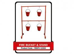 Fire Bucket & Stand